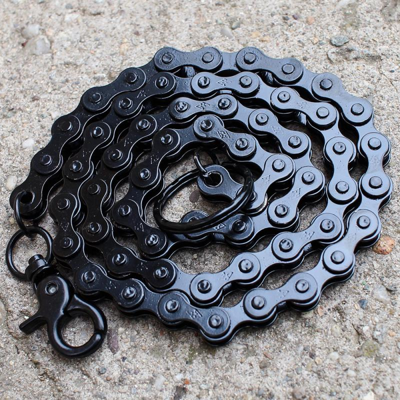 Lant pantalon gen bicicleta culoare neagra 0