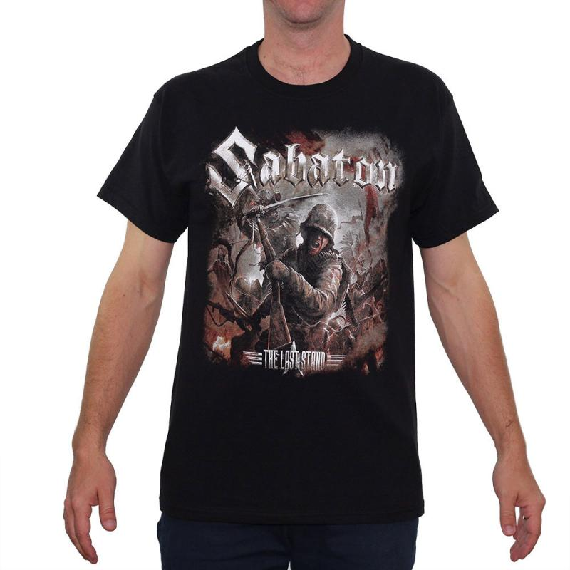 Tricou Sabaton - The Last Stand - Fruit Of The Loom 0